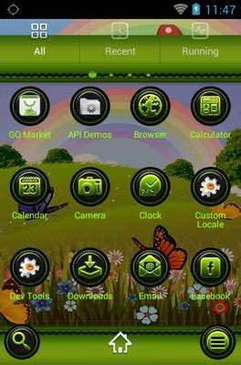 theme line android minnie mickey and minnie android theme for go launcher