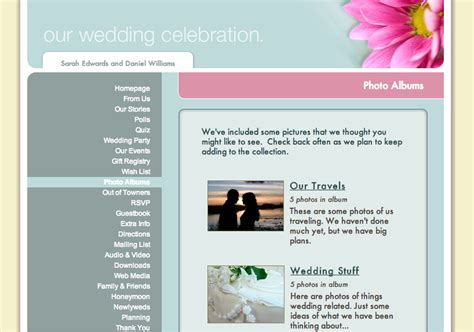 Weddingwire Wedding Website by Page 2 Of 31 Ewedding