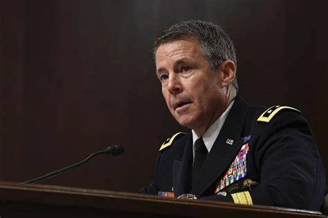 senate confirms miller  lead  mission  afghanistan