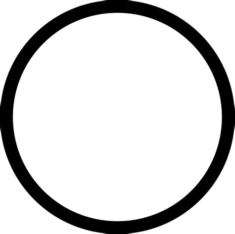 white circle outline png www pixshark com images
