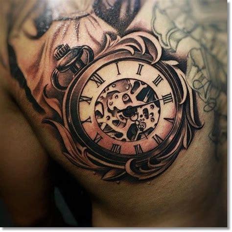 pocket watch tattoos designs most brilliant pocket designs made