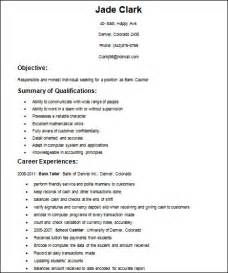 Basic Resume Templates For High School Students by Simple Resume Format Exles Of Resumes 24 Cover Letter Easy Resume Sles Sle Resume