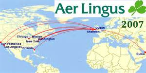 Aer Lingus Route Map by Erin Go Bragh Aer Lingus Re Commits To North America And