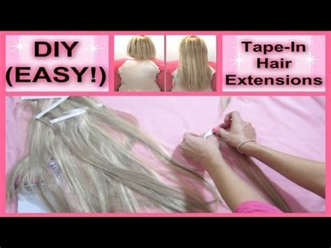 removing hair extensions at home removing extensions at home hair weave