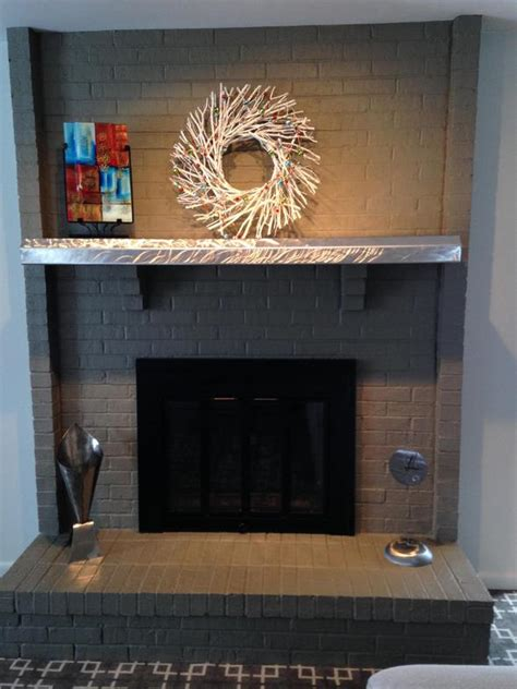 stainless steel fireplace mantel stainless mantels