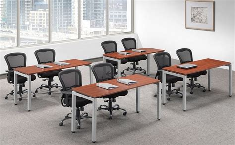 ndi office furniture u leg training table 24 quot x 48