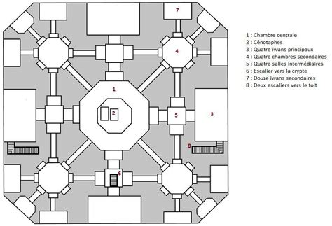 floor plan of taj mahal mausoleum of the taj mahal