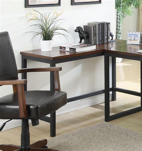 Narrow Black Desk Coaster Marple Narrow Desk Brown Black 801241 At