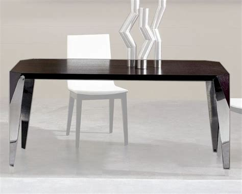 Modern Wenge Dining Table Contemporary Wenge Dining Table 44dme Tbl