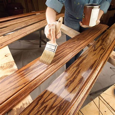 woodwork paint finishes 11 tips on how to finish wood trim family handyman