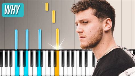 why bazzi bazzi quot why quot piano tutorial chords how to play