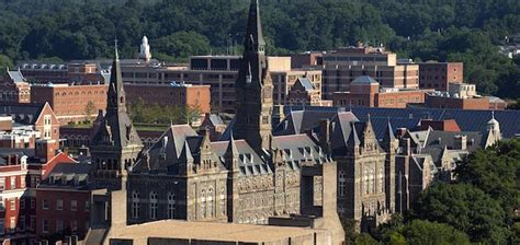 Georgetown Part Time Mba Ranking by Georgetown Switches Out Mba Essay Again