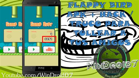 flappy bird hack apk flappy bird apk hack para trollear todo para tu android