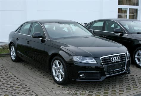 Audi A4 Model History by Audi 2007 A4 The History Of Cars Exotic Cars Customs
