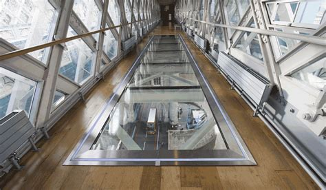 Tower Bridge Interior by Tower Bridge Se Met Au Verre Gobain