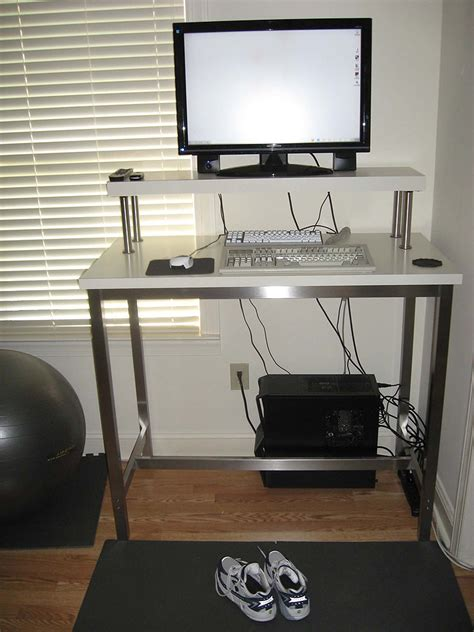 Computer Monitor Stand For Desk by Computer Monitor Stand For Standing Desk Review And Photo