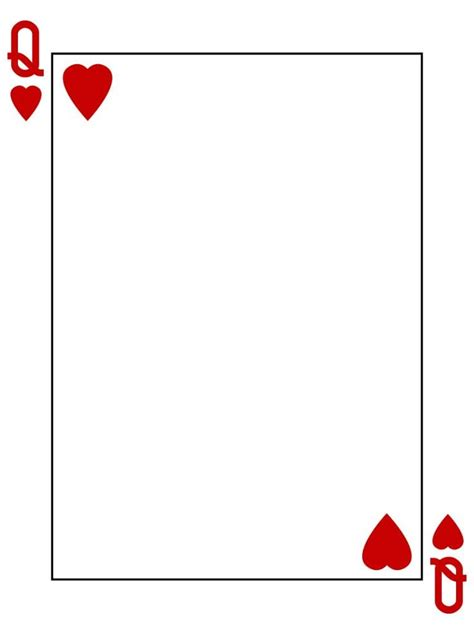 of hearts card template of hearts card template clipart best