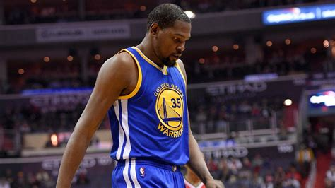 kevin durant benching golden state warriors kevin durant to miss at least 4