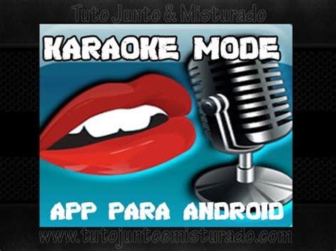karaoke mode for youtube download karaoke mode para android youtube