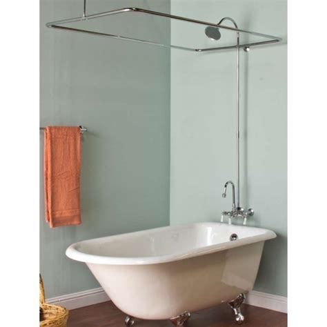 Shower Kit With Bathtub by Used Clawfoot Tub Shower Kit Bathtub Designs
