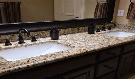 bathroom countertops other than granite 15 most popular granite choices for bathrooms countertops