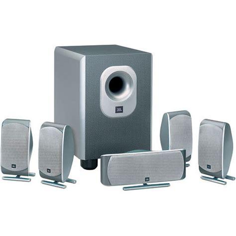 jbl demo scs   piece home theater speaker system scs