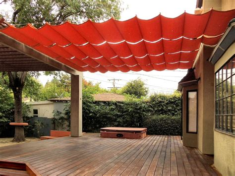 A Shade Of Vire 7 9 clever diy ways to create backyard shade patio