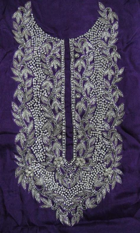 Handmade Embroidery Designs Suits - embroidered designer suits in ludhiana punjab