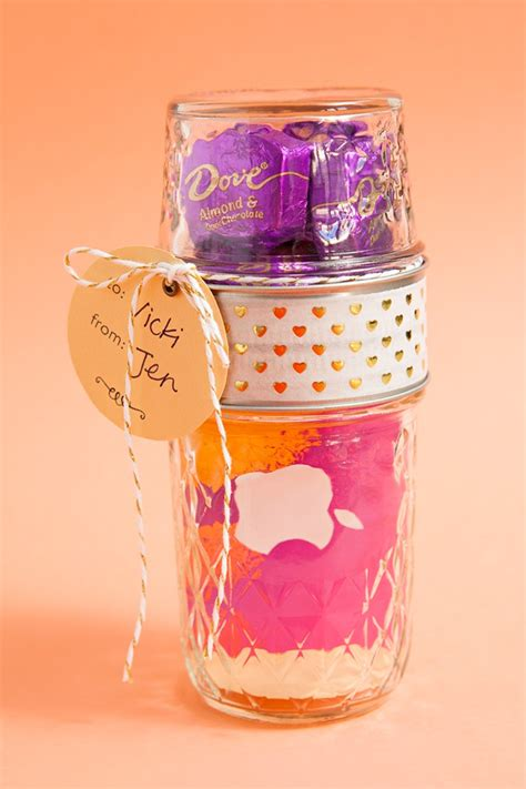 Lids Gift Cards - make your own double mason jar gift card holders