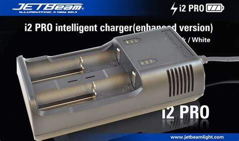 Jetbeam I4 I2 Pro Intelligent Charger jetbeam i2 pro intelligent charger black jakartanotebook