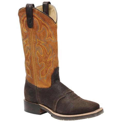 roper shoes womens s h 174 wide square toe work roper boots