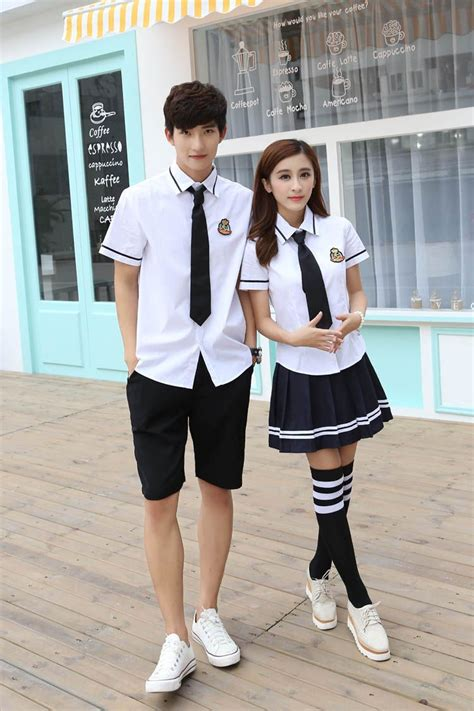 Korean Student Costume Setelan Anak cheap school white shirts buy quality korean school directly from china school