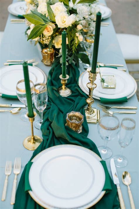 20 Emerald Green Wedding Ideas   KnotsVilla   Wedding