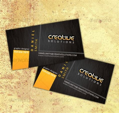 25 impressive premium business cards templates dotcave