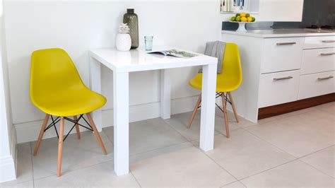 small white kitchen table and chairs eames dining set eames replica white gloss kitchen table