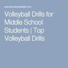 setting drills for middle school volleyball drills volleyball and drills on pinterest