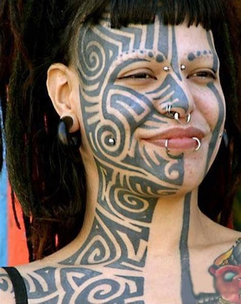 girl face tattoos ideas on best 2015 designs and