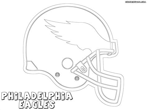 philadelphia eagles coloring pages coloring pages ideas