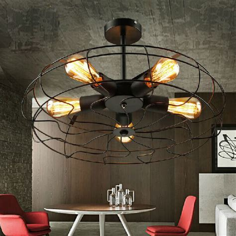 American Country Loft Rh Fan Ceiling Ls Vintage Dining Room Ceiling Fans With Lights
