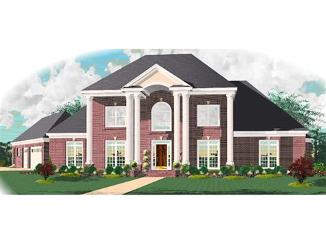 colonial luxury house plans anjou colonial luxury home plan 087d 1010 house plans and more