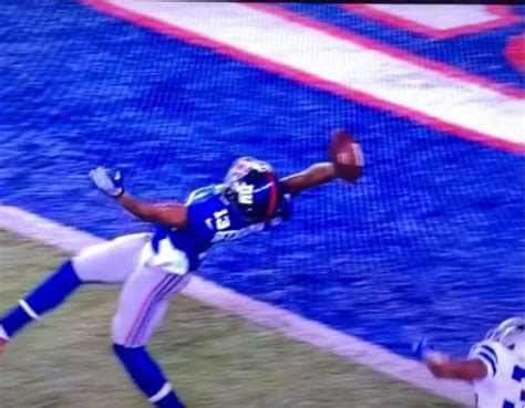 the science of odell beckham jrs incredible onehanded td catch 2014 new york giants odell beckham jr makes incredible one