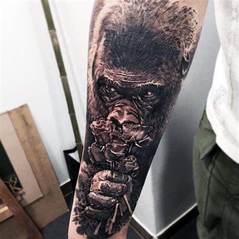 tattoo nightmares gorilla ape tattoo tattoo collections