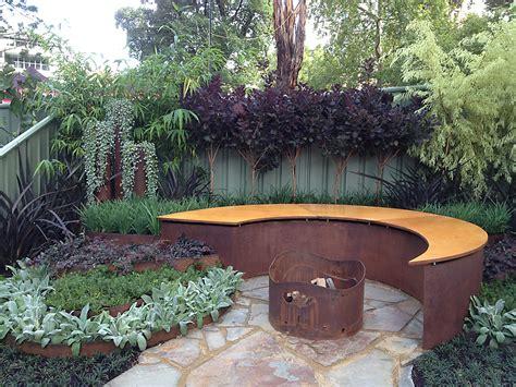 Garden Accents Metal Landscape Edging Decor Metal Landscape Edging With Dining Set And Fence
