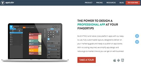design your app online the 18 best app makers to create your own mobile app