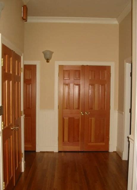 oak doors white baseboards white baseboards basement