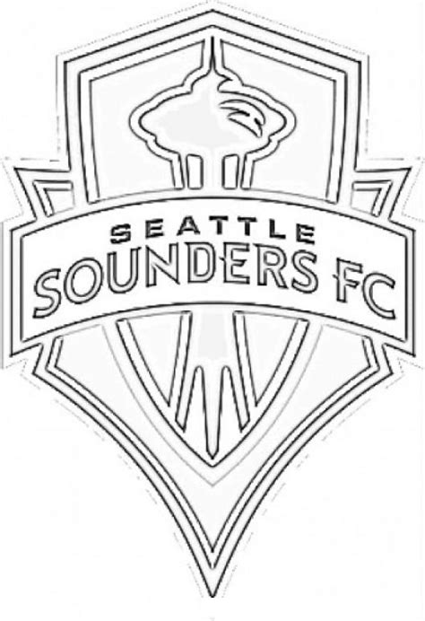 free coloring pages of seattle sounders