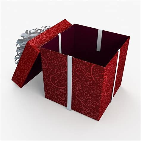 open christmas gift box www imgkid com the image kid