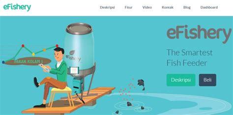 Alat Pemberi Makan Ikan Otomatis efishery startup pembuat alat pemberi makan ikan otomatis