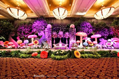Decoration For Engagement Party At Home A Walk In The Wonderland Butterfly Event Styling
