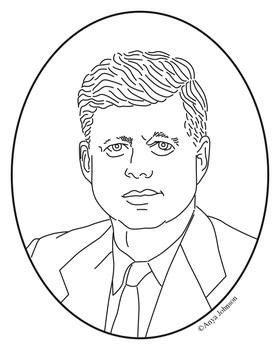 Coloring Pages Of John And Jackie Kennedy Coloring Pages Template Jfk